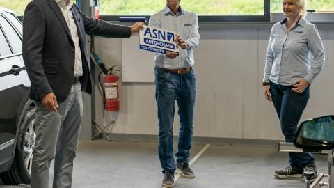 ASN Autoschade Almere gecertificeerd als ASN Autoschade Experience Center