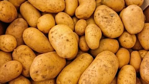 Drukte bij actie overschot aardappelen