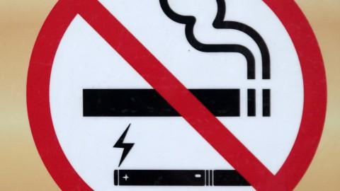 Rookverbod geldt vanaf nu ook voor e-sigaretten