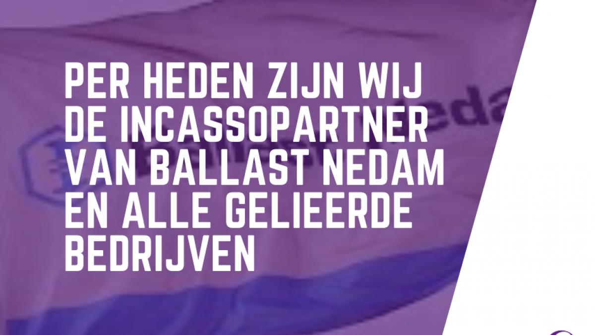 ZWS Incasso per heden incassopartner van Ballast Nedam