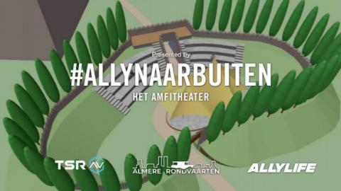 Ga jij dit weekend ook naar het ALLY Amfitheater bij Kasteel Almere?