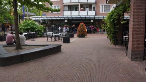 Winkelpanden aan de Marktgracht omgebouwd naar appartementen