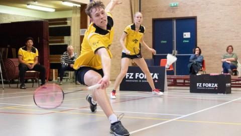Twee maal winst dit weekend voor badmintonners AviAir Almere