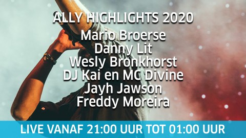 Vanavond live op Ons Almere TV: ALLY Highlights!
