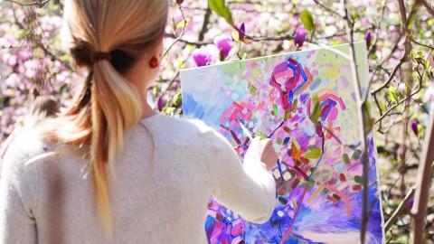 Creatief bezig op een natuurlijke en verantwoorde manier