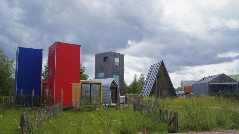 Almere krijgt permanente buitenexpositie met tiny houses