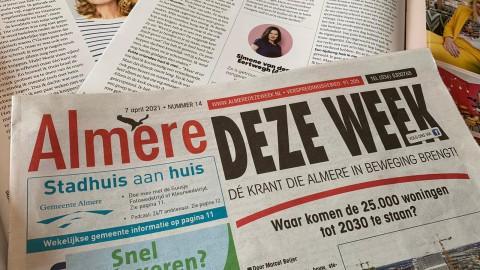Journalist Almere Deze Week vervolgd wegens smaad