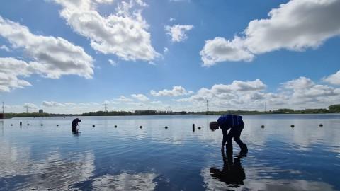 Studenten monitoren kwaliteit van zwemwater in Almere