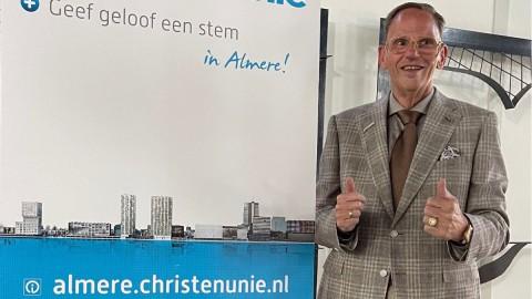 Hans van Dijk unaniem tot lijsttrekker ChristenUnie gekozen