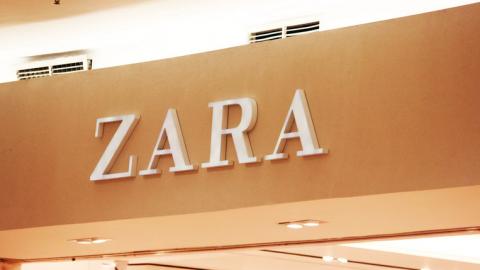 Uitverkoop bij de Zara