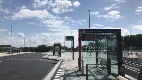 Zo gaat de overkapping van busstation 't Oor eruitzien