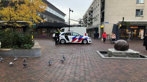 Vier mannen aangehouden voor overvallen telefoonwinkel