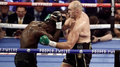 Tyson Fury de nieuwe wereldkampioen