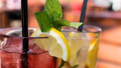 Cocktails in de lente, alcoholvrije Mojito Granate!