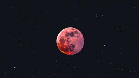 Energie van de Oogst maan