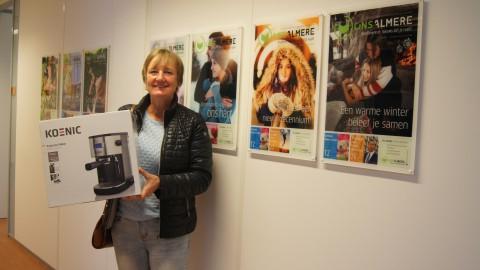 Prijswinnaar Hellen van der Veer gefeliciteerd!