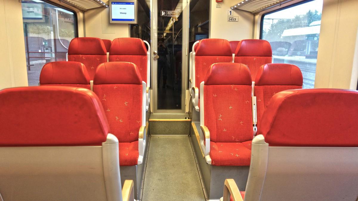 Ook vanmorgen geen treinen tussen Poort en Hilversum