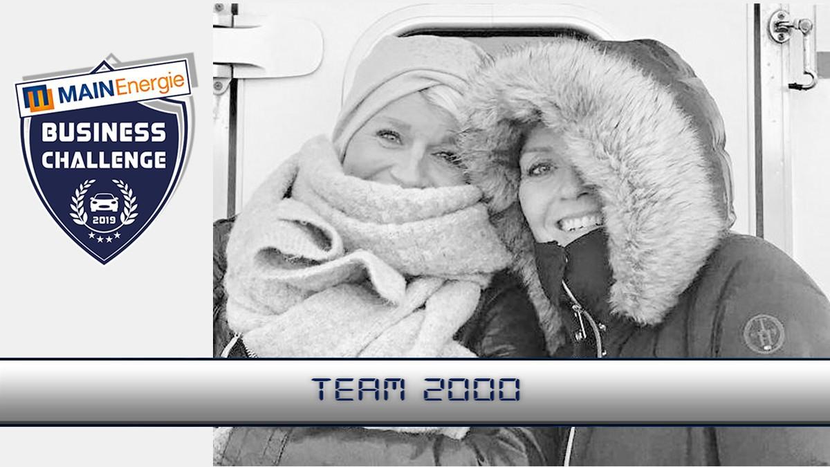 Team 2000 staat bovenaan in de top drie van de Business Challenge 2019!