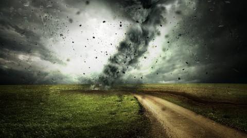 De eerste storm met een naam in Nederland