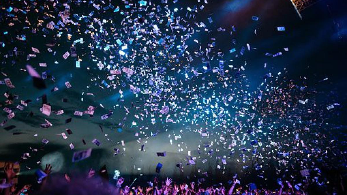 Volgend jaar geen plastic meer in confetti Bevrijdingsfestival
