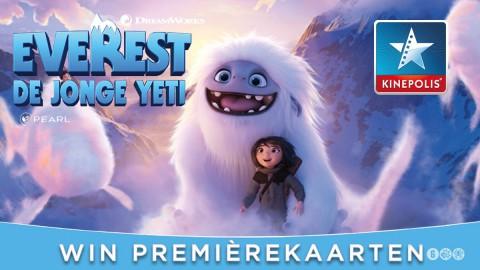 Ons Almere geeft vier première kaarten weg voor Everest De Jonge Yeti in Kinepolis Almere!