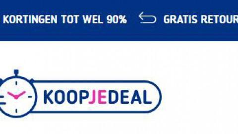Website Koopjedeal is failliet