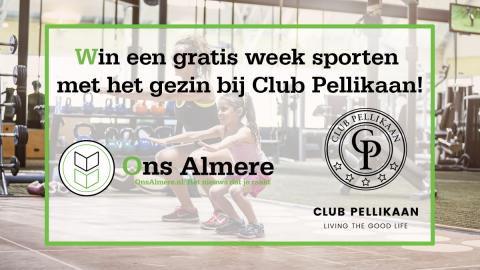 Win-actie met Club Pellikaan in Almere!