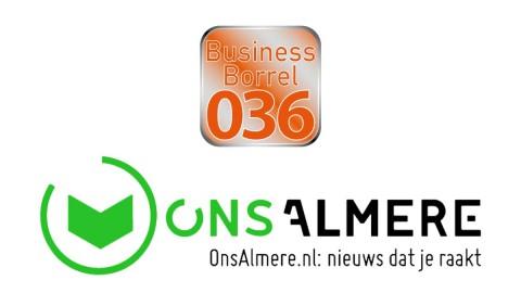 Business Borrel 036 is dé nieuwe zakelijke netwerkborrel van Almere!