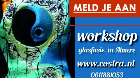 Workshop glasfusie in Almere Buiten!