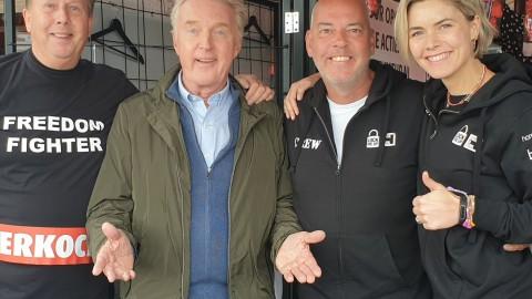 Andre van Duin was aanwezig bij Lock me Up Almere!