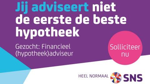 Gezocht: Financieel adviseur SNS Bank Almere